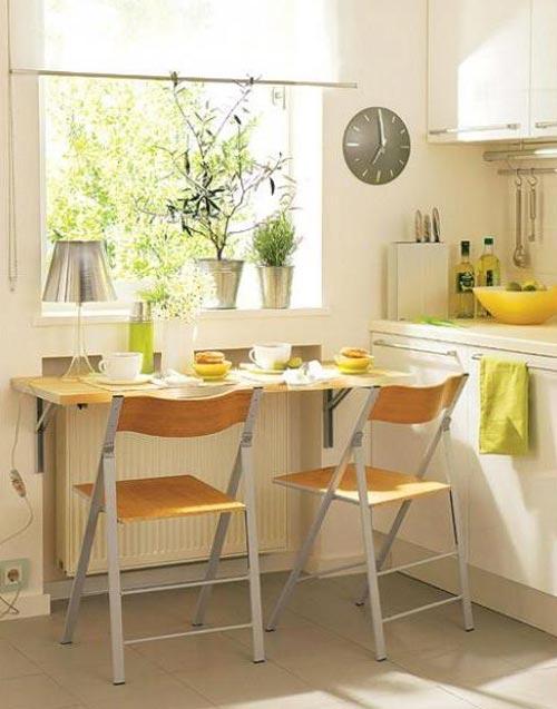 Импровизировать на кухне можно с обеденным столом