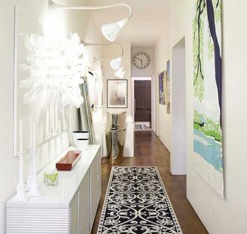 Дизайн длинной прихожей в квартире