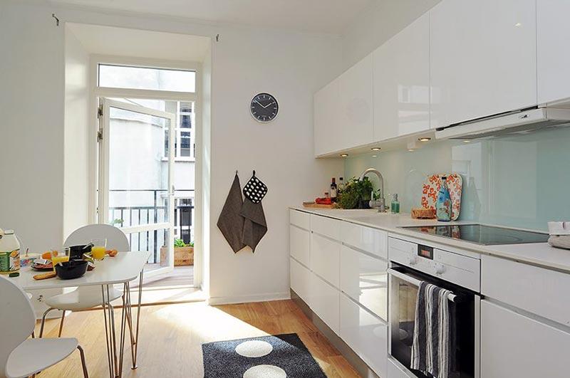 Перепланировка коридора и кухни для увлечения пространства