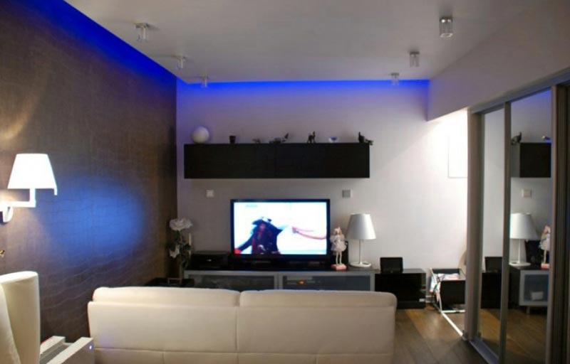 Дизайн проект квартиры с зоной для гостей