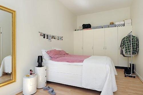 Дизайн детской спальни с минимум мебели в интерьере