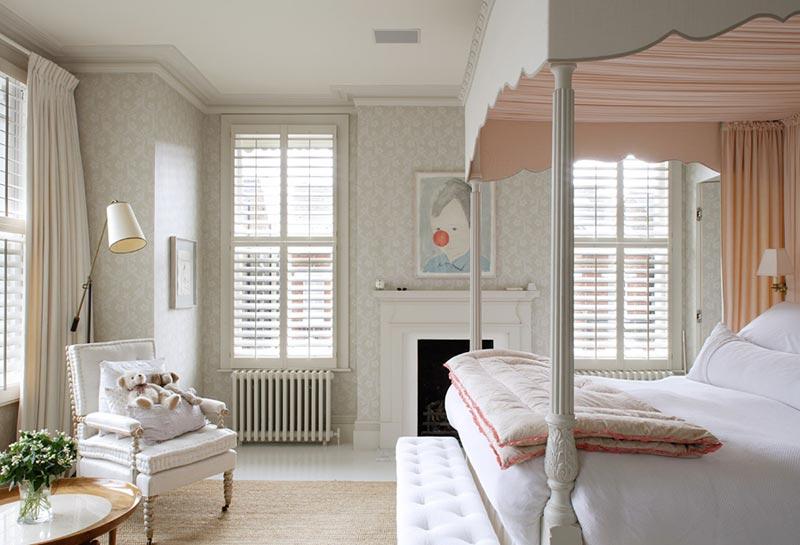 Дизайн детской спальни выполнен из натуральных материалов