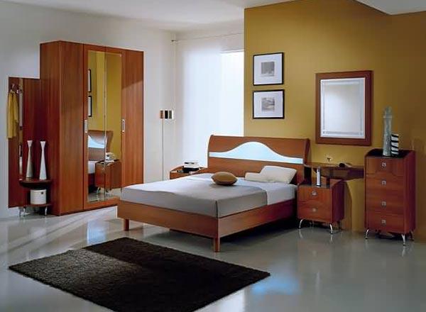 Мебель из вишни в дизайне спальной комнаты