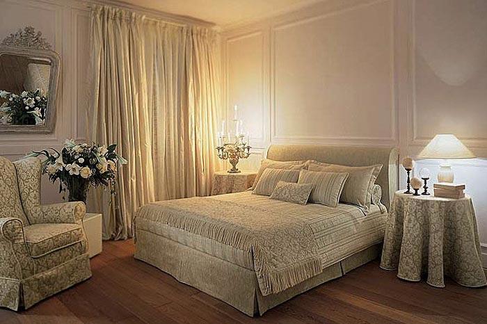 Дизайн спальни в классическом современном стиле