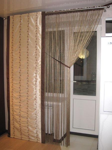 Как применить веревочный дизайн штор
