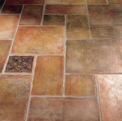 Плитка на полу
