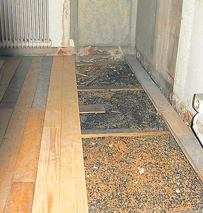 Подготовка деревянного покрытия для нанесения плитки