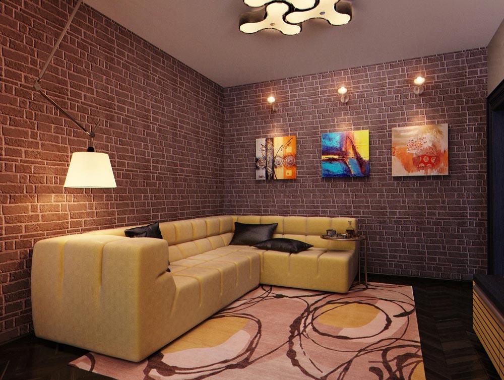 Дизайн и ремонт маленькой гостиной