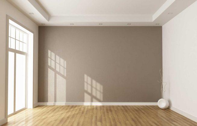 Ровные стены в помещении