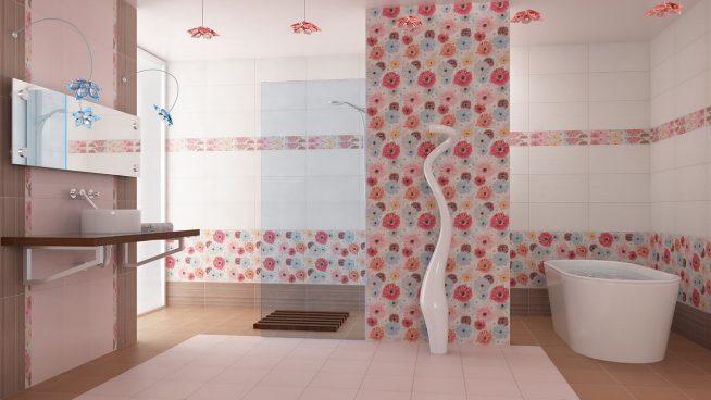 Дизайн-проект ванной комнаты с использование панелей ПВХ