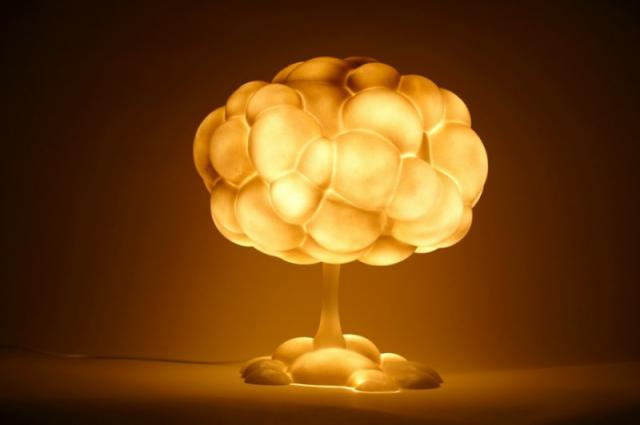 настольная лампа, настольное освещение, необычная лампа, необычный светильник