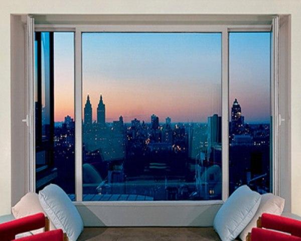 пластиковое окно, панорамное окно, окно, сравнение окон, большое окно, окно с белой рамой, вид из окна