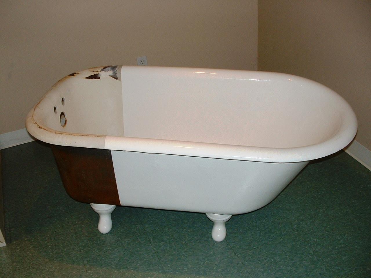Реставрация старых ванн своими руками