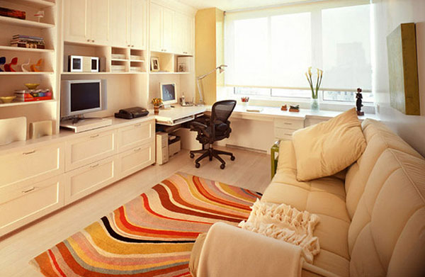 Как обустроить рабочее место в квартире?