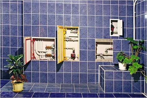 четыре способа скрытия труб в ванной комнате