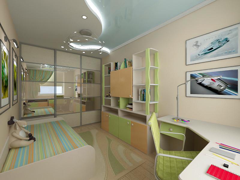 Особенности освещения в детской комнате