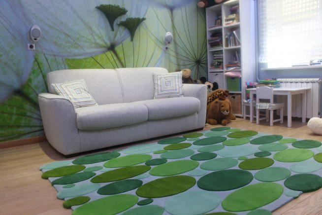 Ковровое покрытие на полу