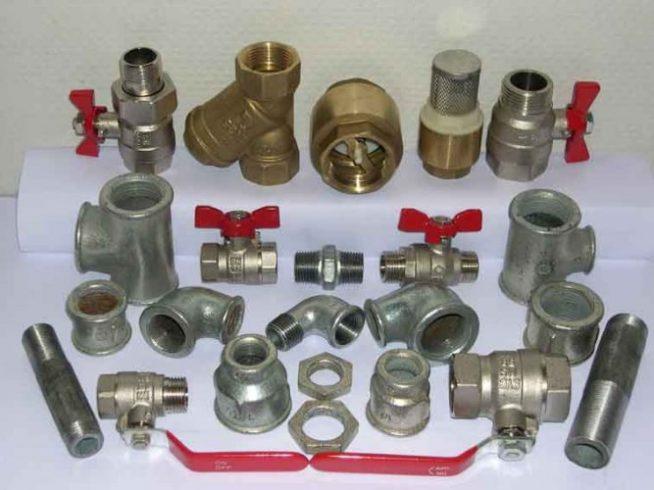 Элементы трубопроводной арматуры
