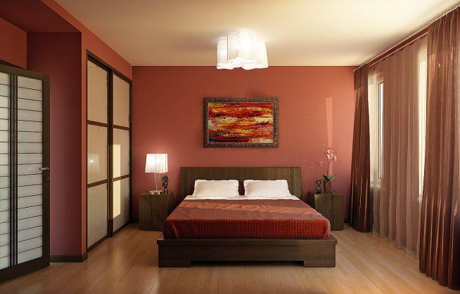 Кровать для спальни с деревянным каркасом