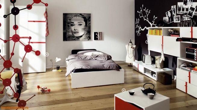 Оформление спальни для девочки-подростка