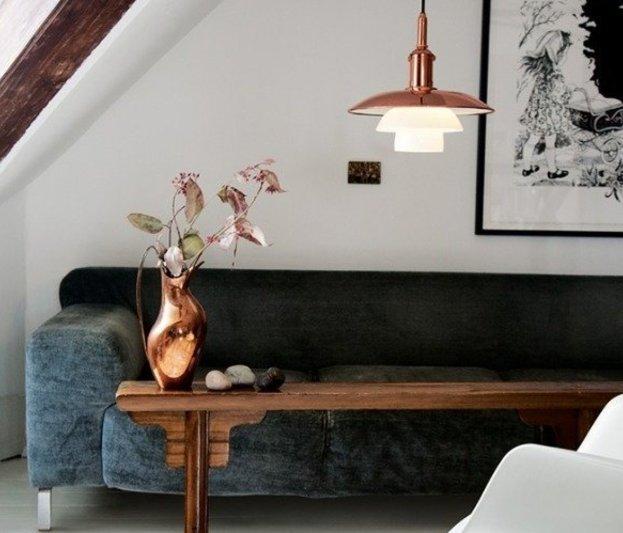 Оригинальные материалы для отделки стен в квартире: металл