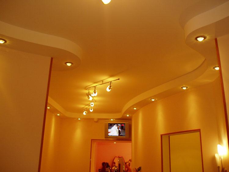 Как самому сделать многоуровневый потолок из гипсокартона