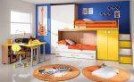 Многофункциональная спальная стенка для детской
