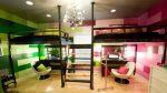 Мебель для детской с вертикальным зонированием