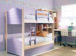 Двухэтажная кровать в детской
