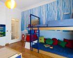 Простая двухэтажная кровать для детской