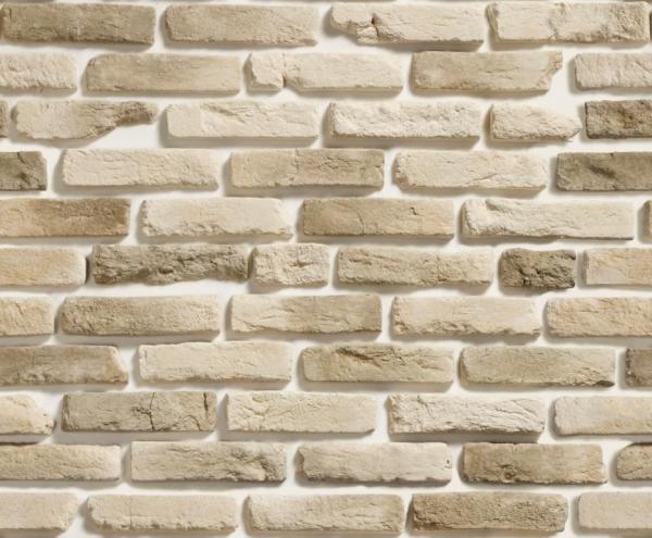 Декоративный камень под белый кирпич