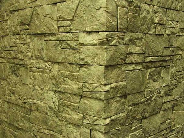 Лакированный декоративный камень