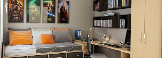 Дизайн спальни для подростка