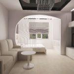 Дизайн комнаты 18 кв. м.