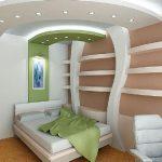Дизайнерское оформление стен из гипсокартона