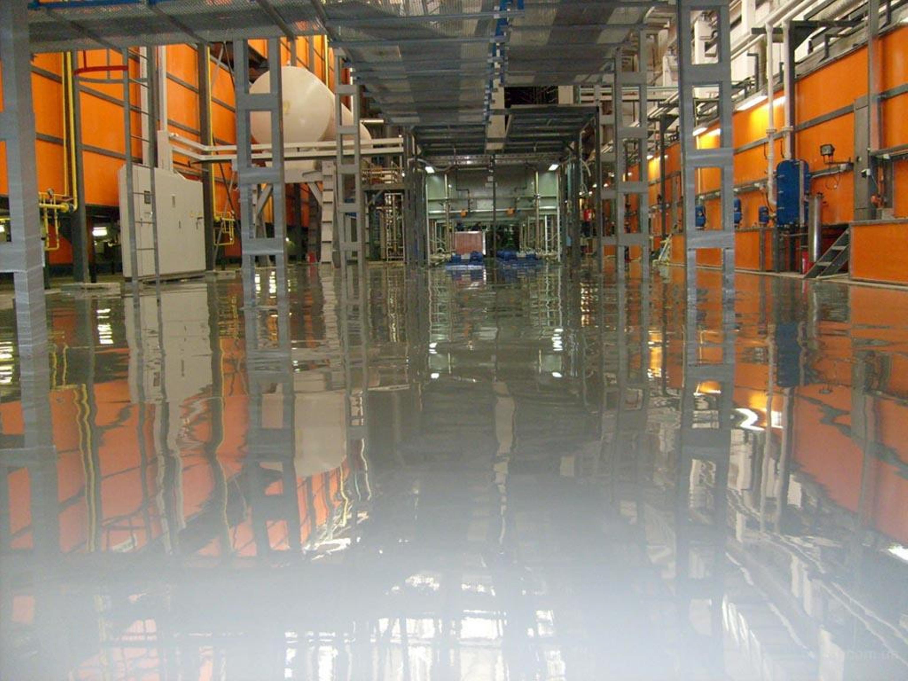 Наливные промышленные полимерные полы