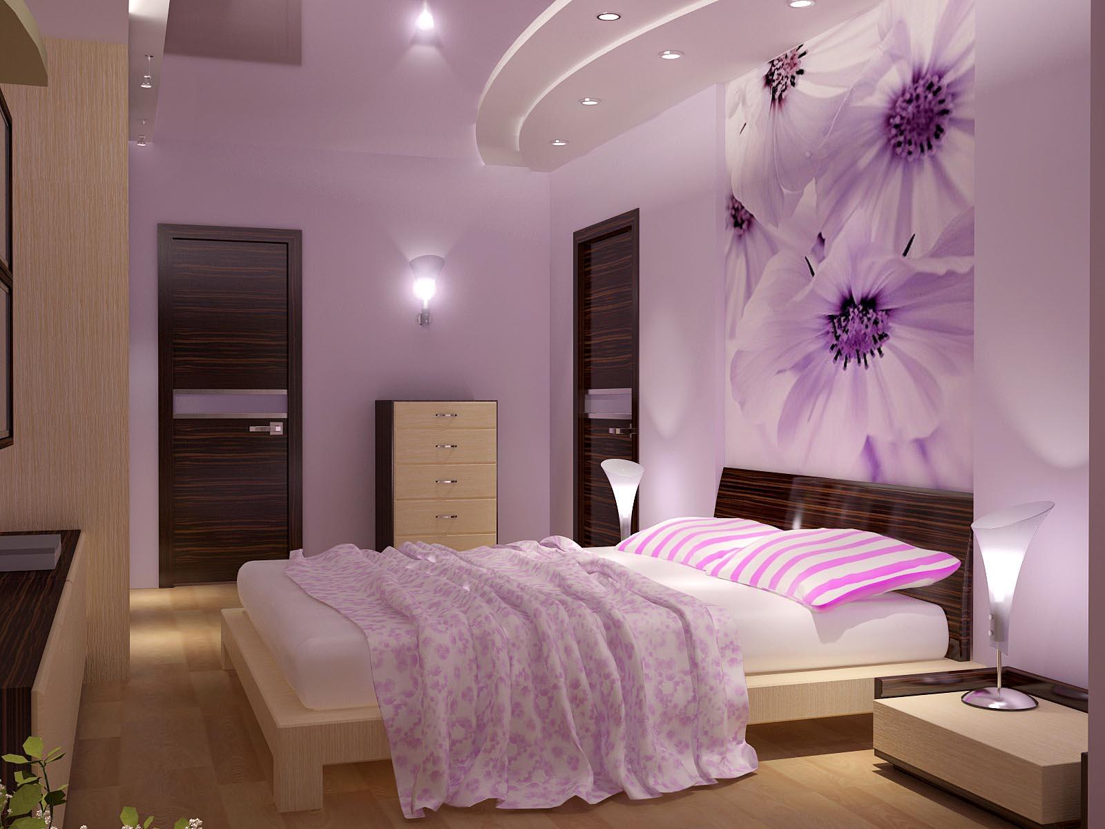 Дизайн стен спальни своими руками фото 593