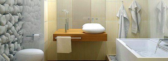Как визуально увеличит ванную комнату?