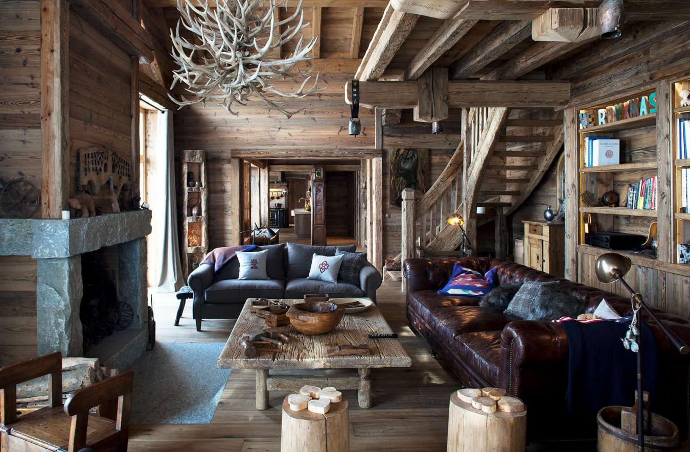 Оформление гостиной в стиле кантри: советы дизайнеров