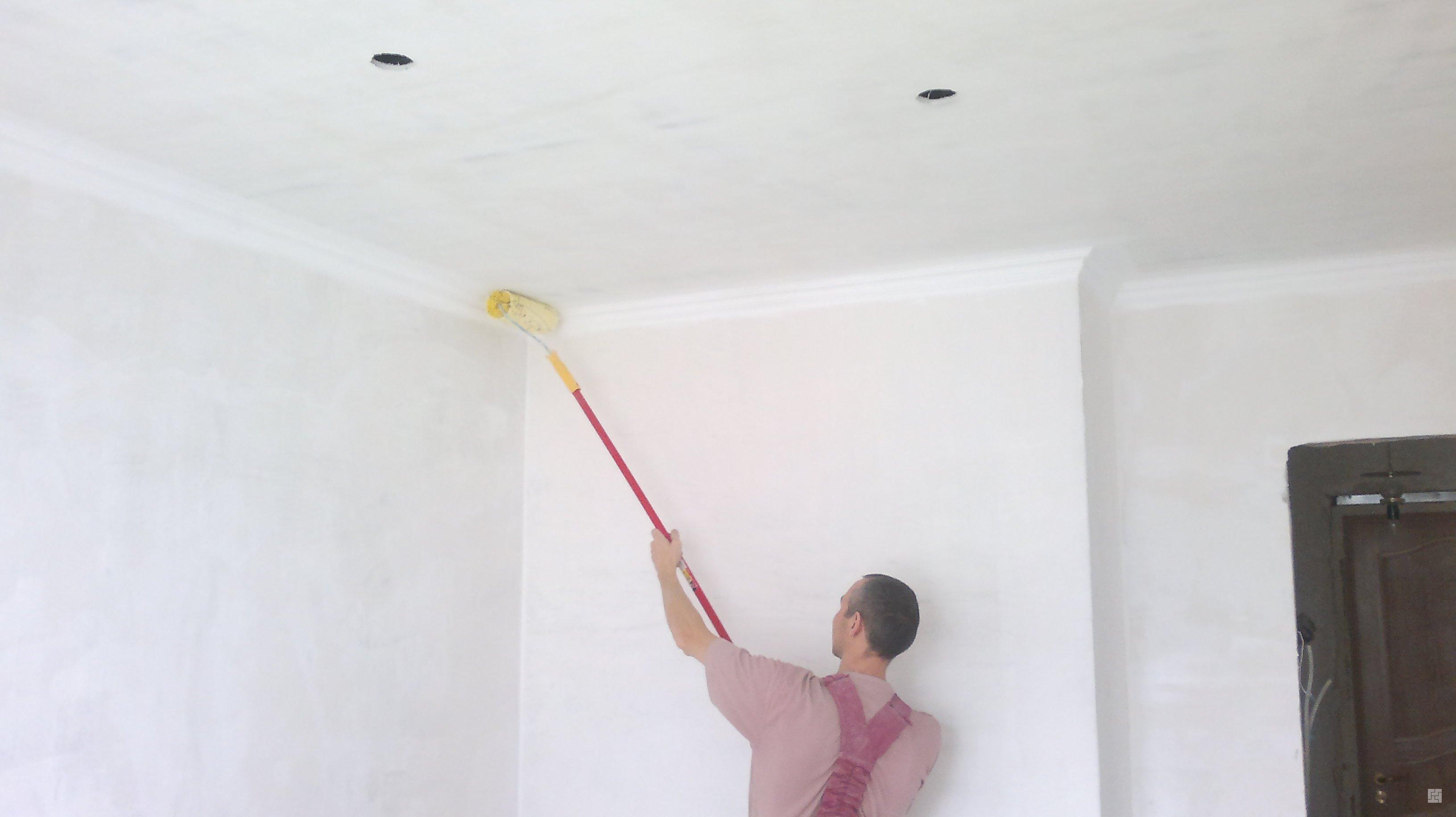 Правильная побелка потолка своими руками – познаем тонкости отделки