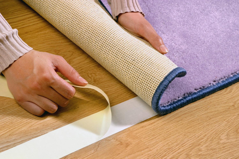 Укладка ковролина на ламинат или другие полы своими руками