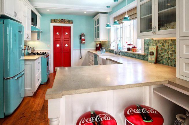 Мебель американской кухни