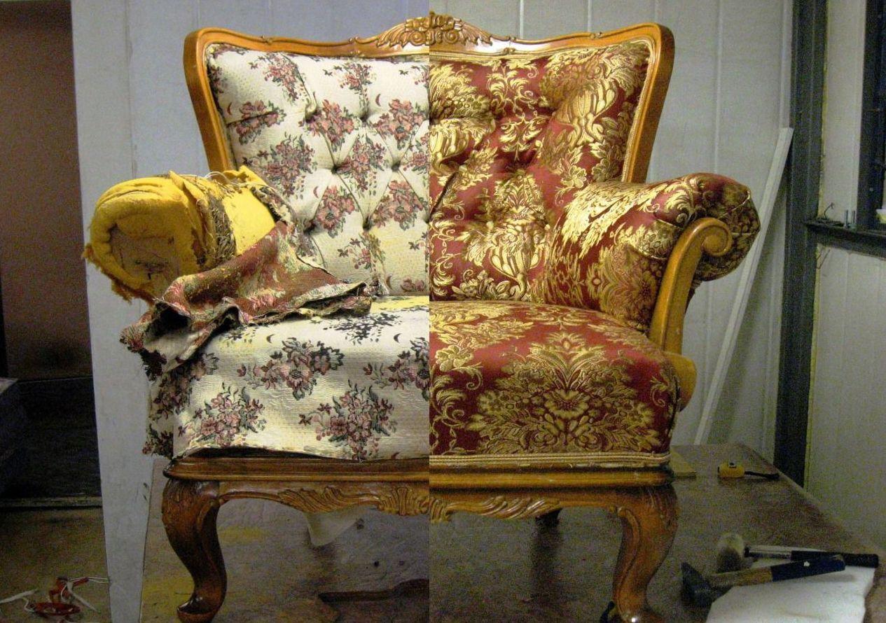 Реставрация старого дивана своими руками фото 252