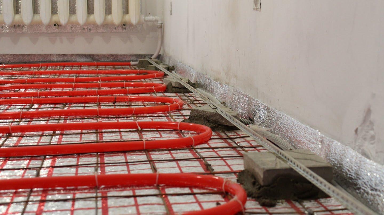 Тёплый пол под плитку: водяной, электрический, плёночный