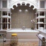 Орнаментальная ванная комната