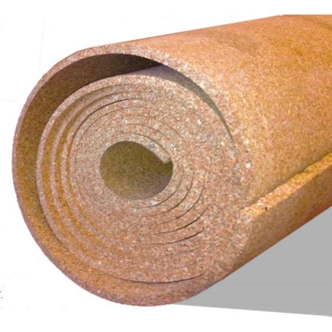 Пробковая подложка в рулоне
