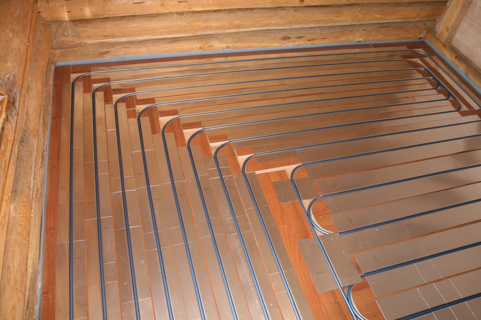 Как сделать деревянный пол теплый