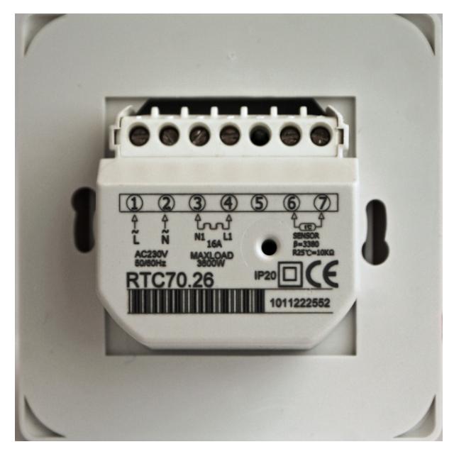 Терморегулятор электрического теплого пола