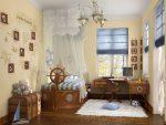 Детская комната в морском стиле для девочки