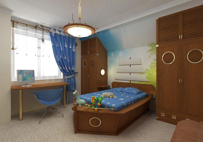 Детская мебель в морской тематике